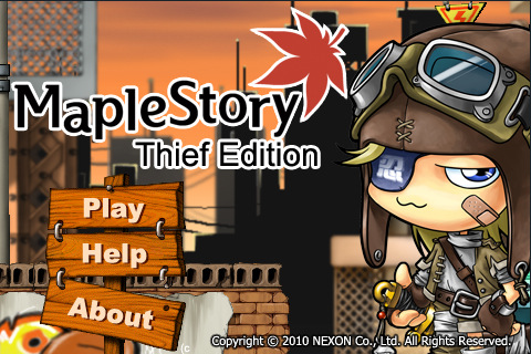 MapleStory Thief iPad